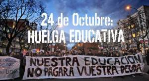 24O huelga educativa