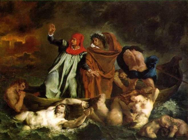La barca de Dante-Delacroix