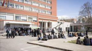 Estudiantes de la Universidad Complutense en una jornada de huelga / EFE