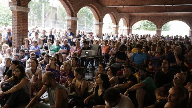 Acto de presentación de Guanyem Barcelona. / EDU BAYER