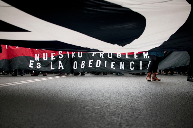 Manifestación del 1º de mayo de 2013 en Madrid. Foto: Álvaro Minguito