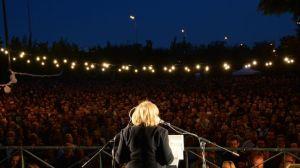 Fiesta electoral de Ahora Madrid el 24M. / Europa Press.